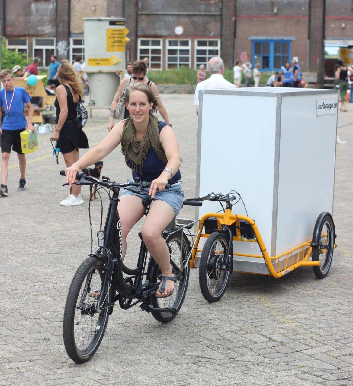Cargo-bikes: veel mee met de fiets