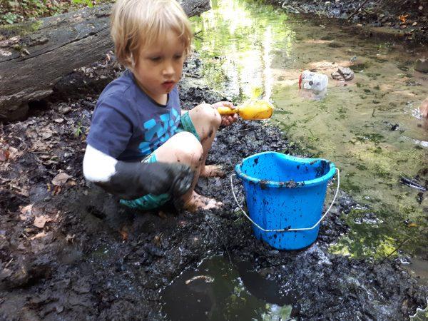 Spelen in de modder is gezond